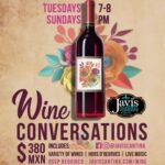 Wine Conversations at Javi's Canttina