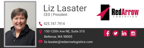 Liz Lasater | Red Arrow Logistics