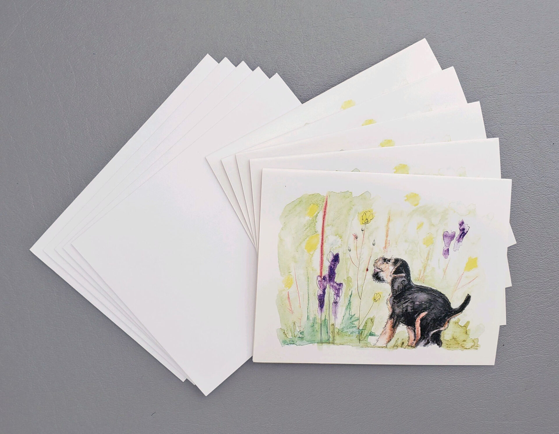 """Dusty"" Note Cards"