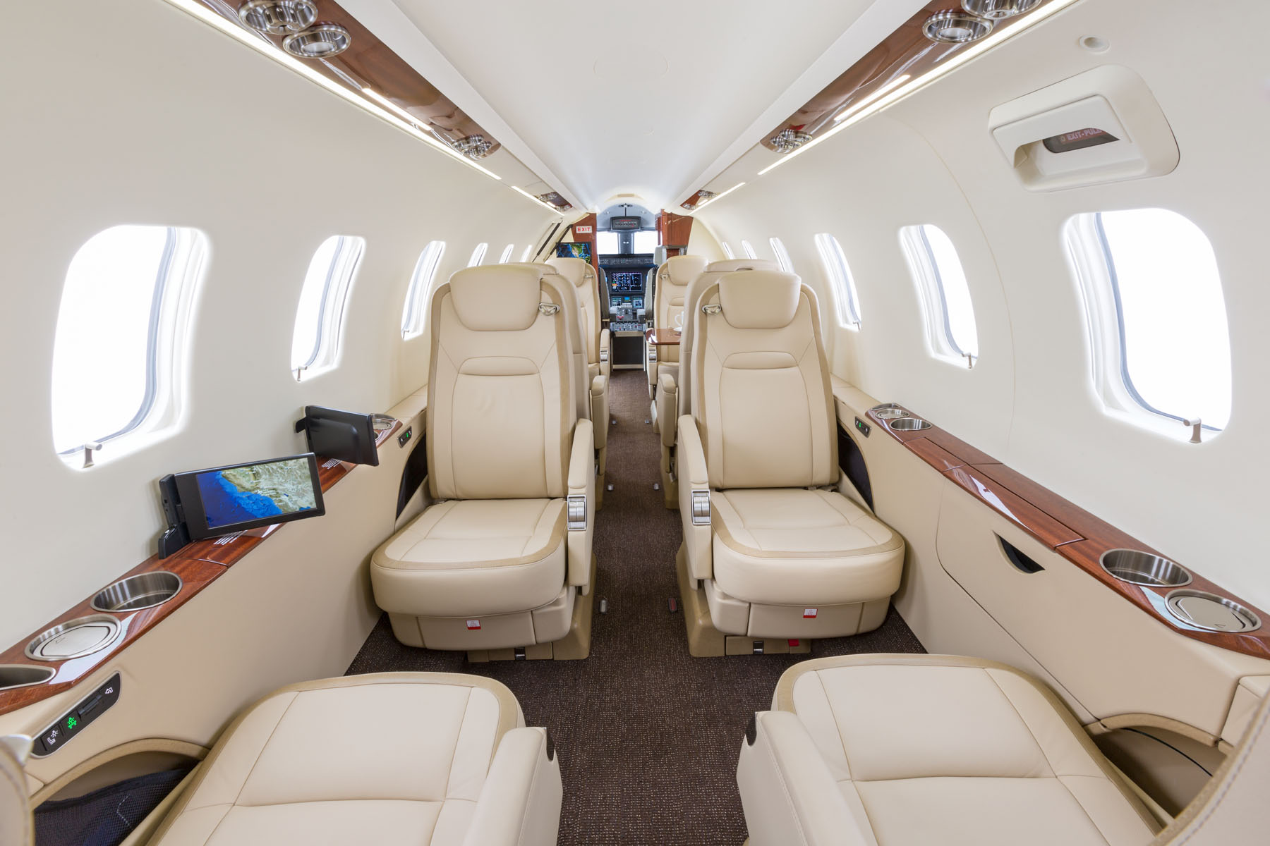 Learjet Interior