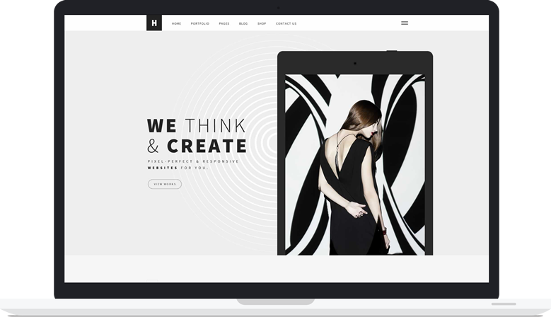 Encite International laptop creative