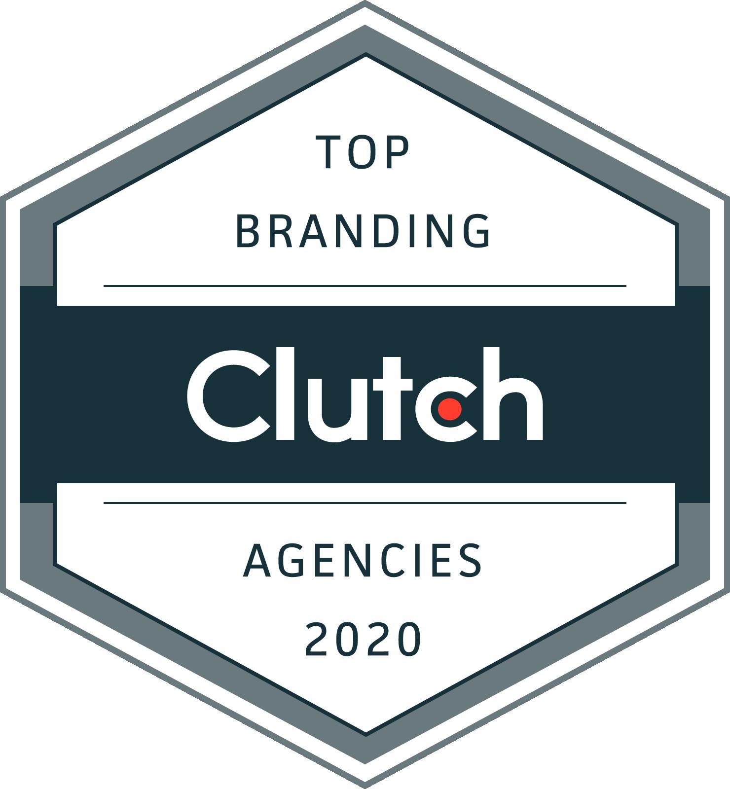 Clutch Top Branding Award Agencies 2020