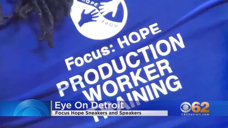 Eye On Detroit – Focus Hope Sneakers and Speakers