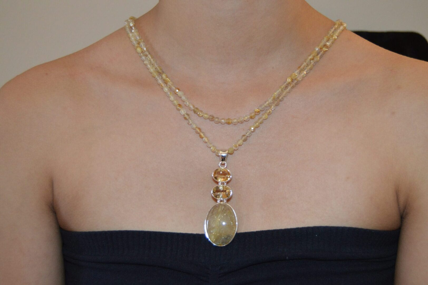 An Angelica double necklace