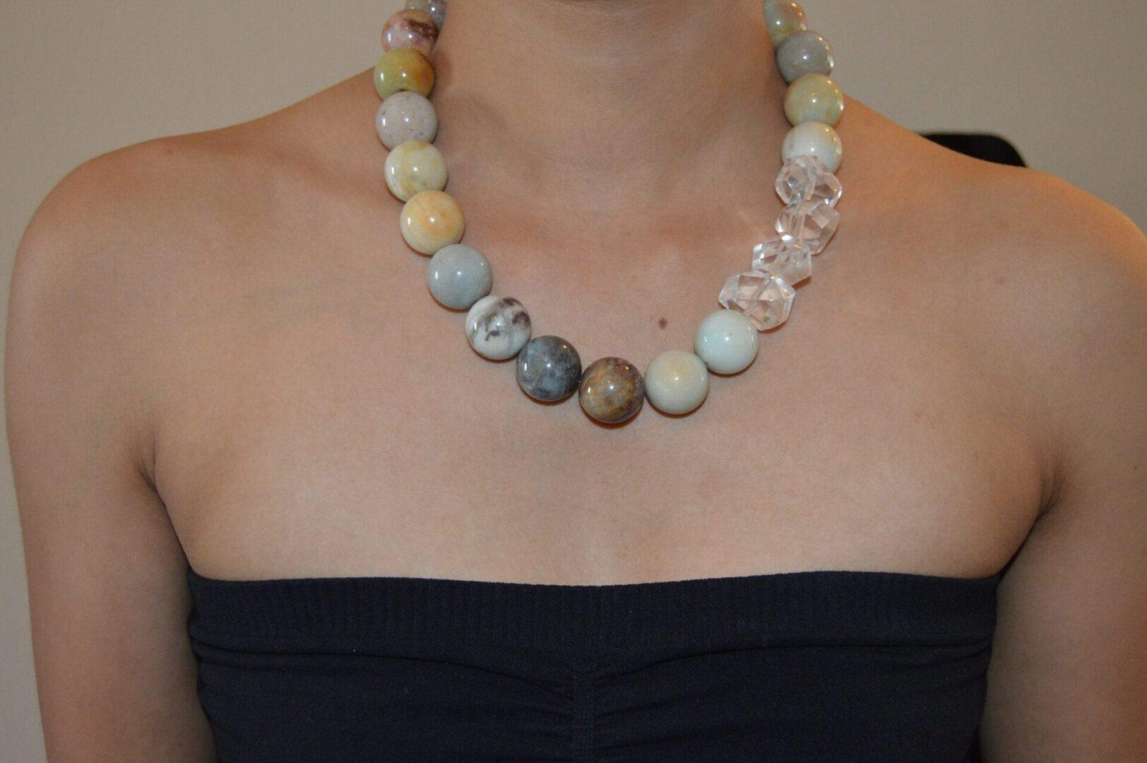 An Amazon Queen Necklace