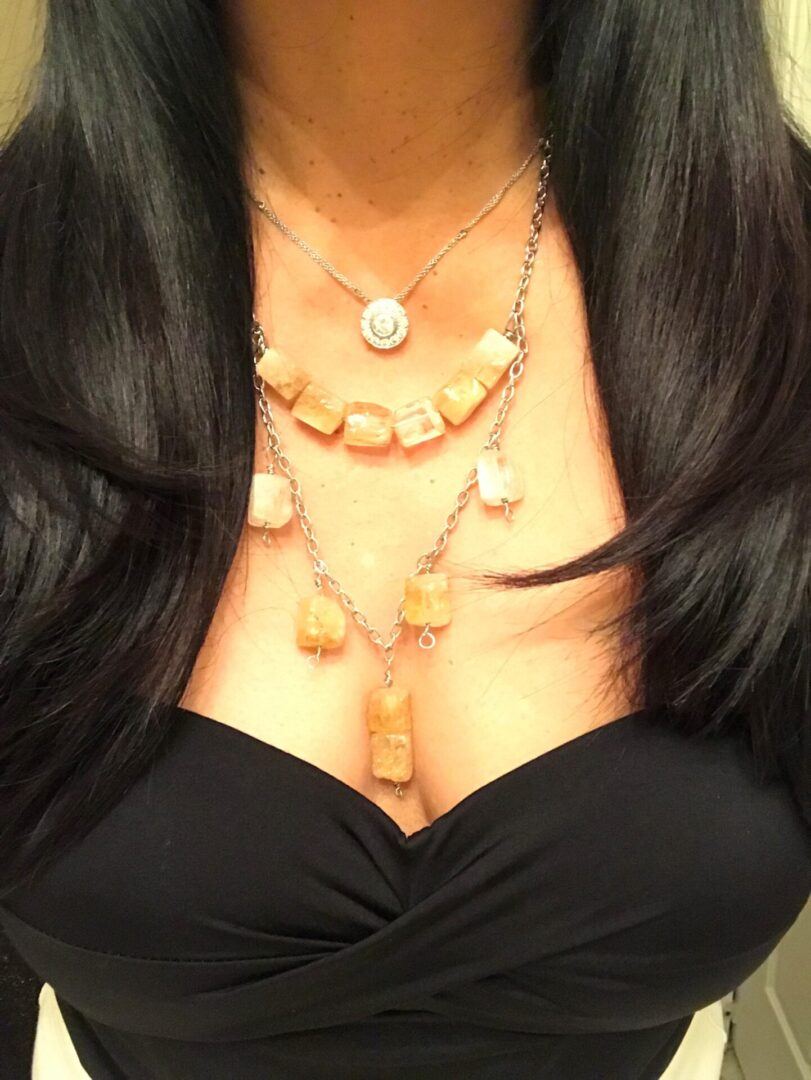 A Casha Citrine Necklace