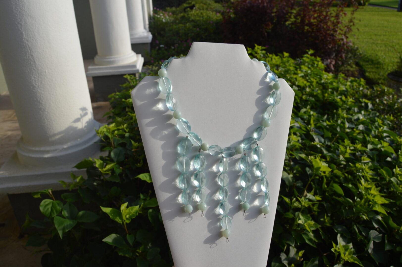 A Blue Diva necklace