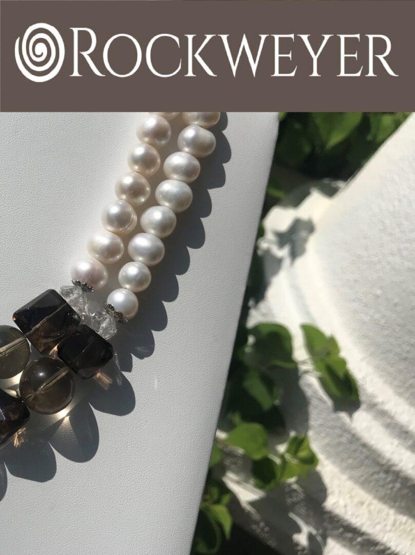 A Smokey Quartz pearl strands