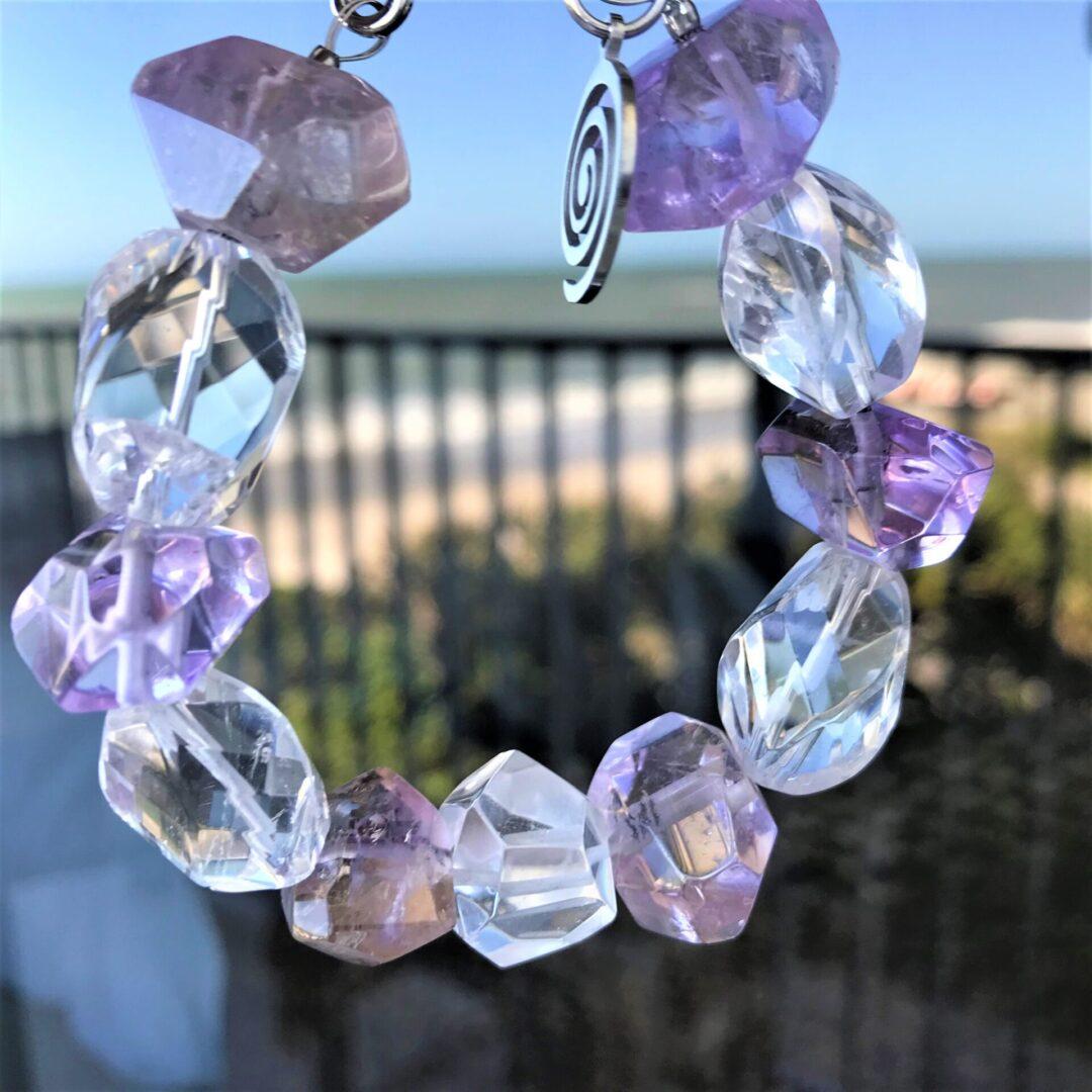A Diana Lavender Amethyst Bracelet