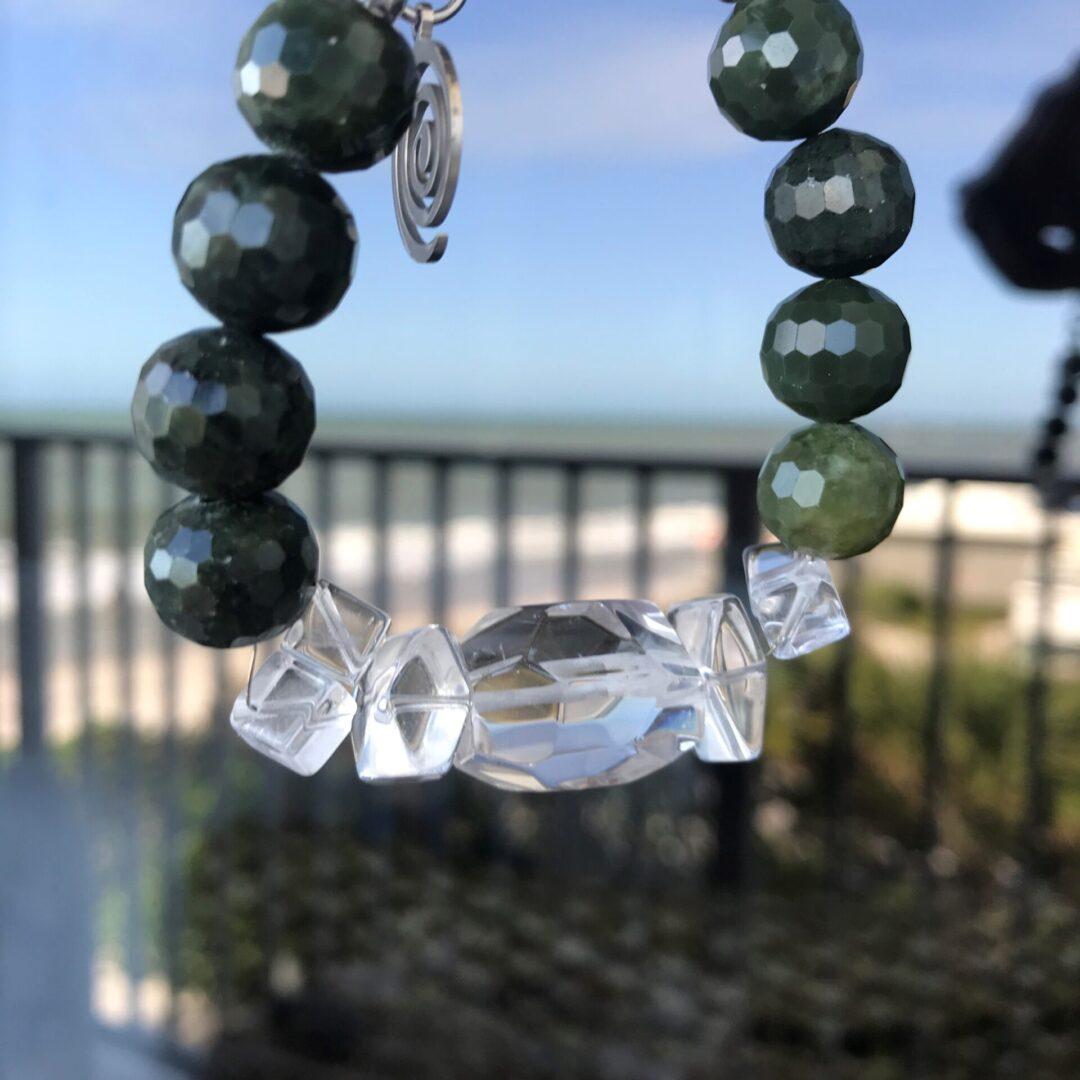 A Jade Girl Necklace