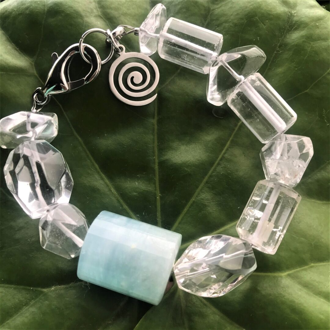 Another angle for the Queen of the Sea Bracelet