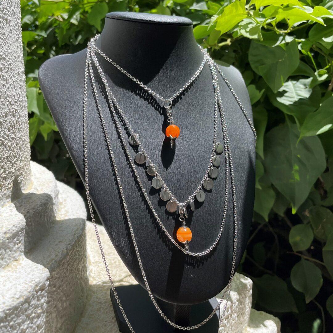 A Multi-stone Boho Chic Pendant