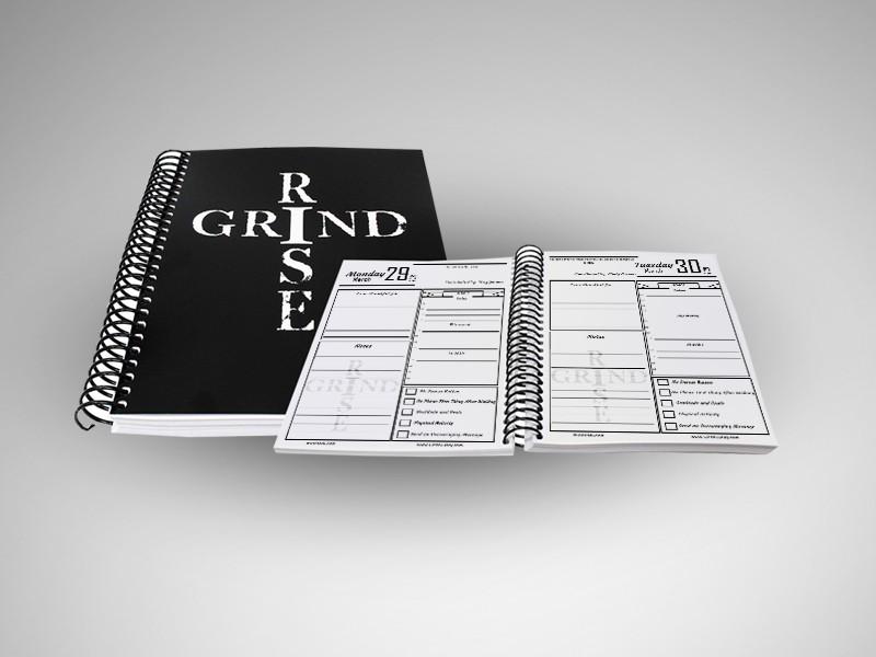 #RiseandGrind 2021 Interactive Planner
