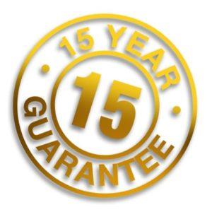 15 year artificial grass warranty