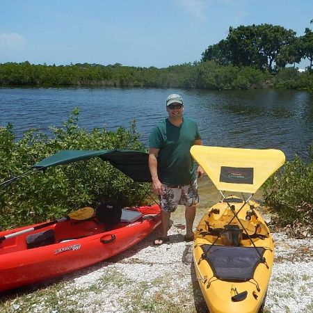 Kayak sunshade