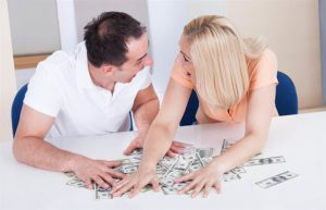 money issues with couple