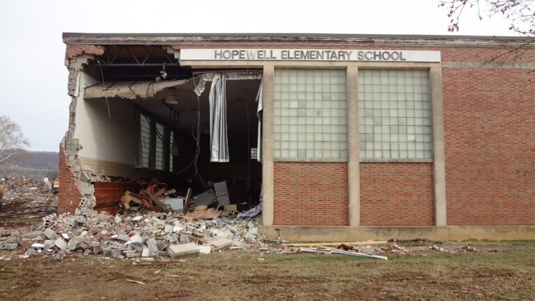 Hopewell Elementary Demolition