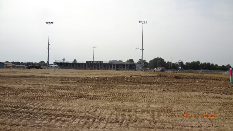 Teays Valley Field House Construction