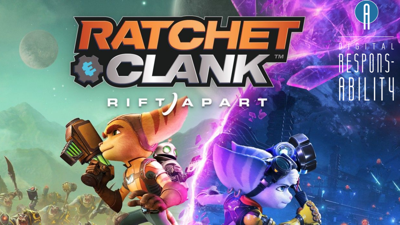 Ratchet and Clank: Rift Apart Parenting Review