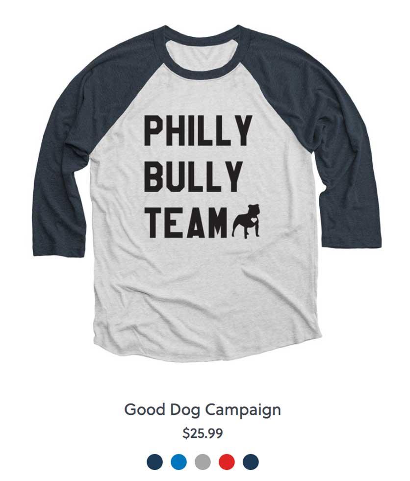 Philly Bully Team Shirt