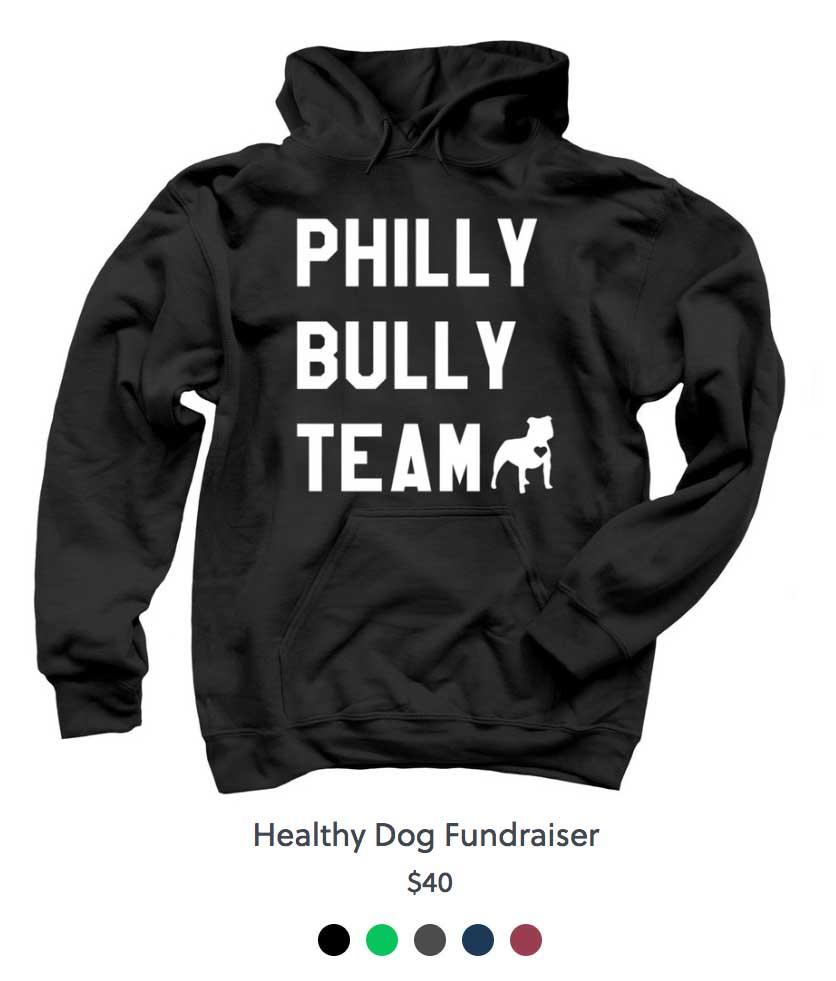 Philly Bully Team Sweat Shirt