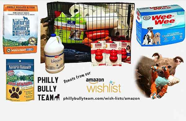 Philly Bully Team Amazon Wishlist