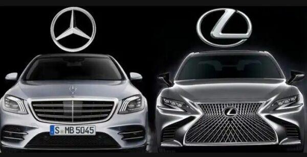Mercedes vs Lexus .