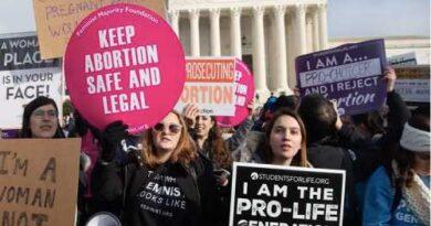 Law banning abortion