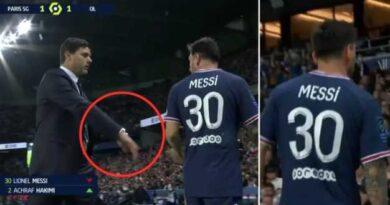 Messi Snubs PSG boss