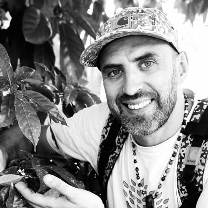 Yann Guignon is founder and director of iboga conservation charity called Blessings of the Forest.