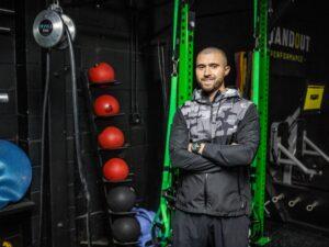 Matt Cooper in gym.