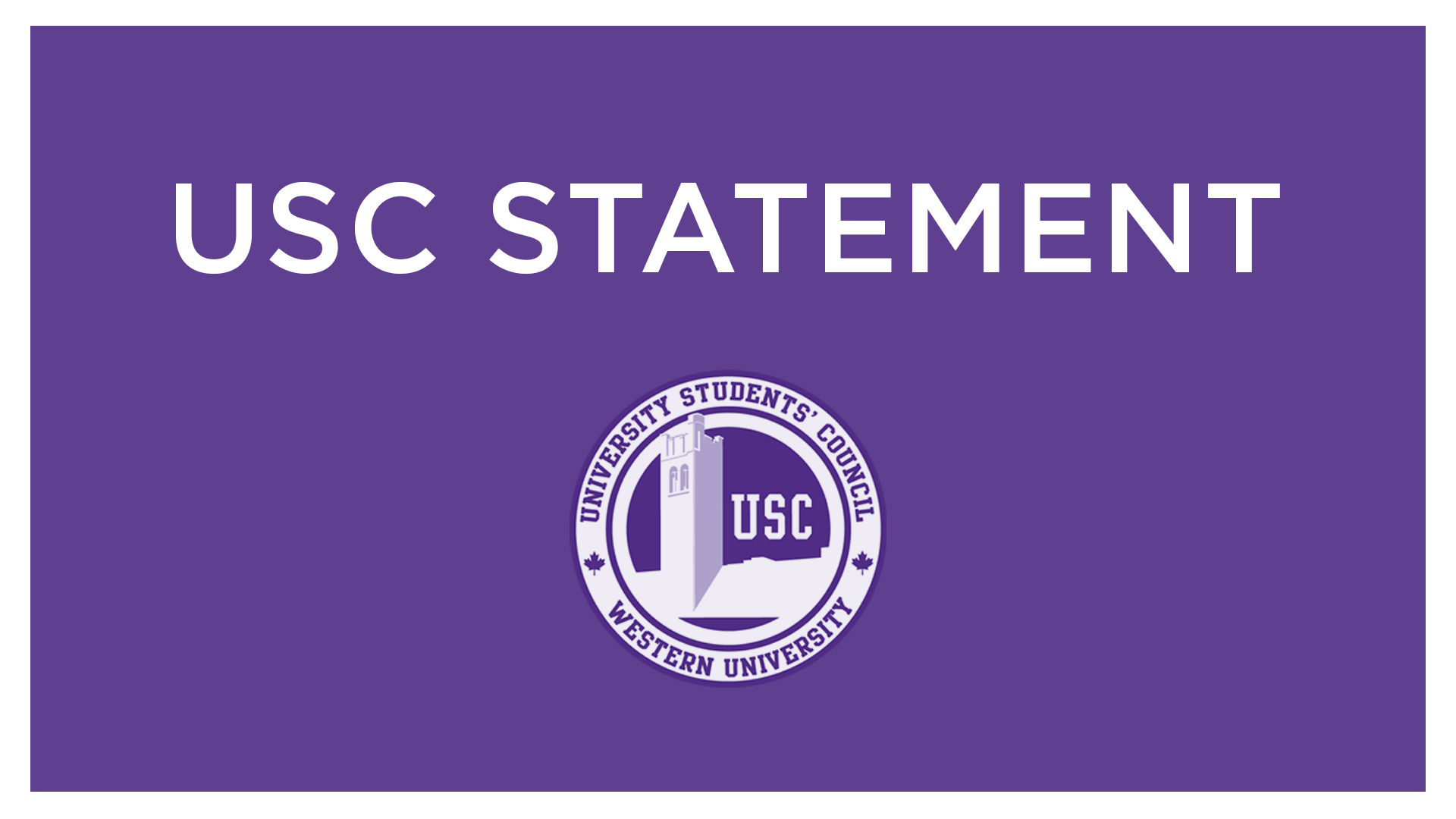 USC Statement on the Death of a Student