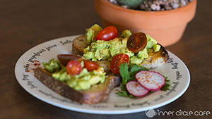 Avocado Toast at Inner Circle Cafe