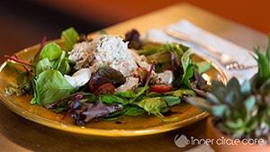 Garden Salad with Abby Lee Farm Tomato & Cucumber