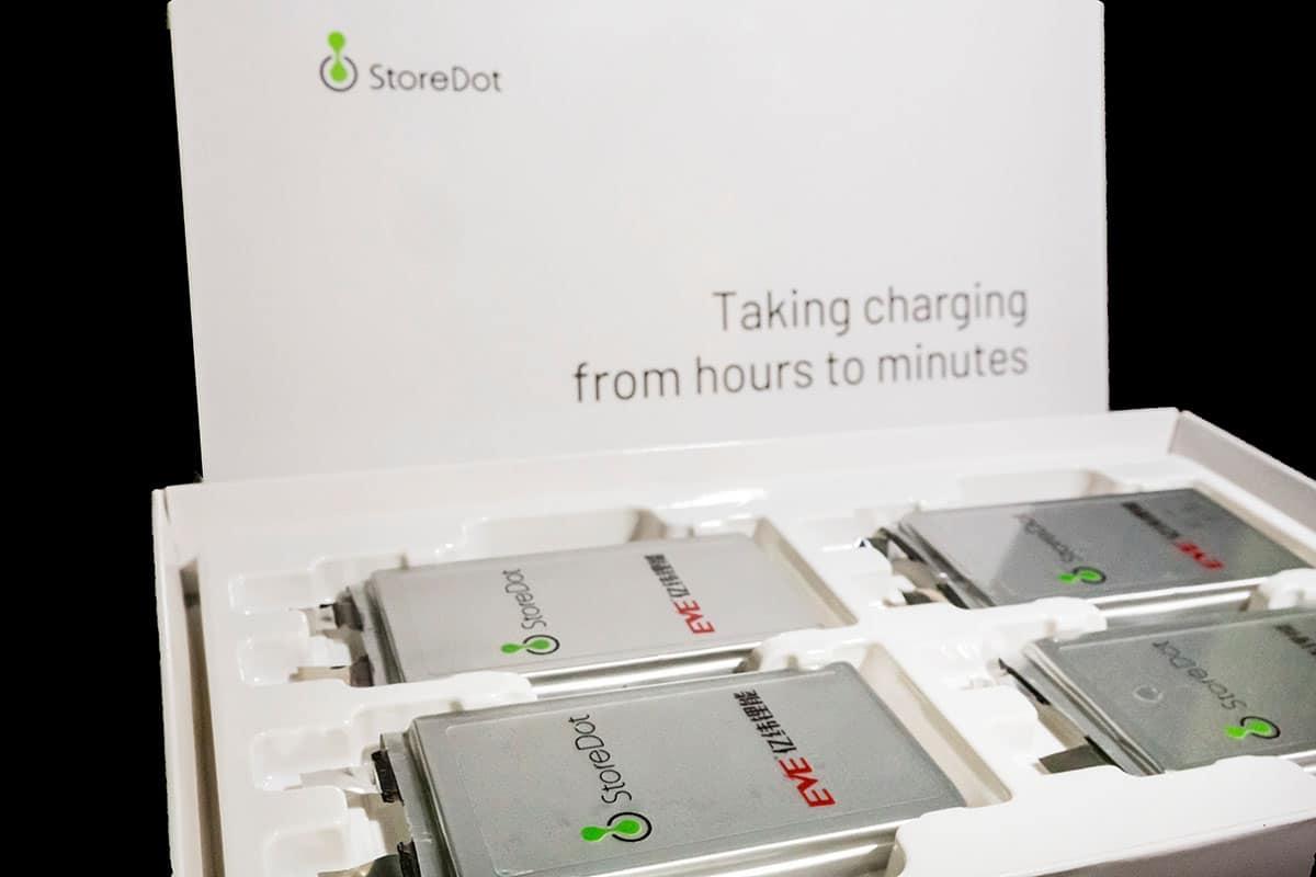 Baterías de carga ultrarrápida