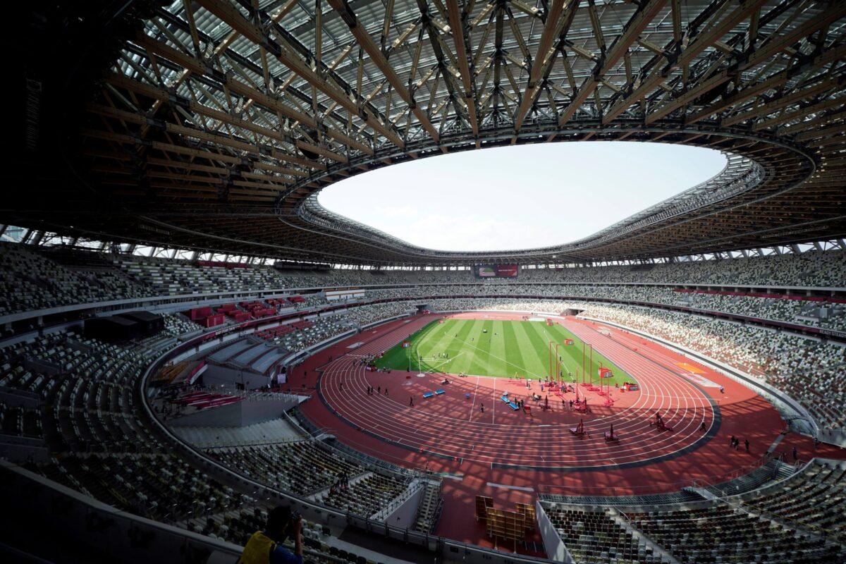 La gran estructura deportiva de Tokyo 2020
