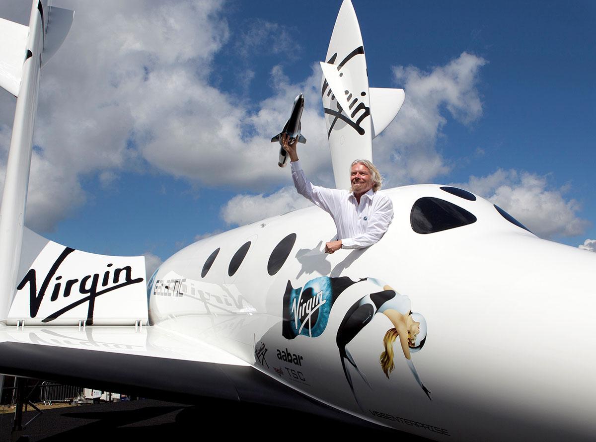 Multimillonarios van al espacio