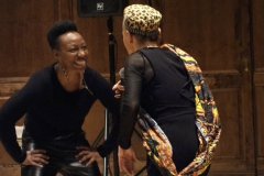 Live Improvisation with MFA Kera and Mike Russell of Black Heritage at Williams College and Smith College in 2019
