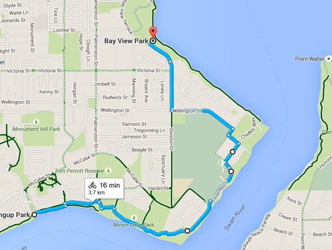 Section 3 - To Bay View Park