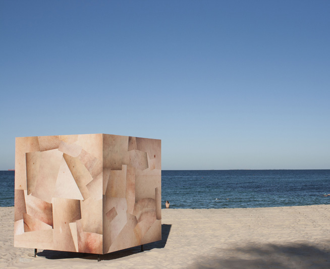 Skin Cube by Louise Sparre