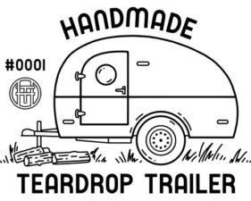 The Handmade Teardrop Trailer Logo