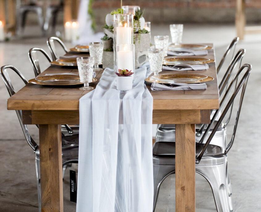 Nerdy Fox Rentals & Designs Tablescape