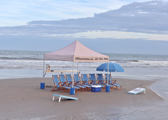 The Big Kahuna - OBX Beach Equipment Rental Package for Your Entire Family