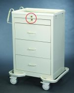 Medication Cart (Punch Card 4 Drawer) - Medicine Carts