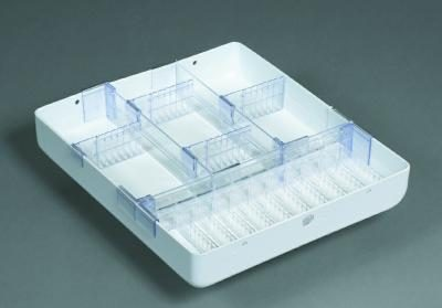 """Medical Cart Accessories - Mini Cart Tray - 3"""" Drawer (TMH-10)"""