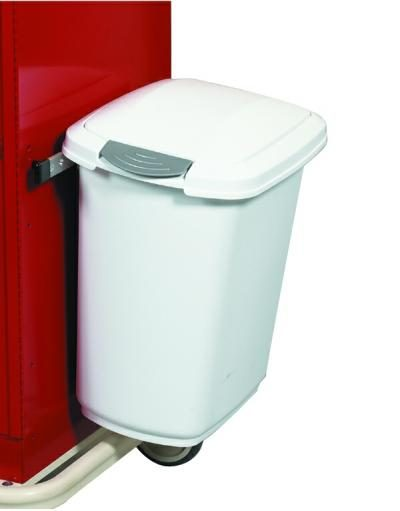 Medical Cart Accessories - Waste Container Touch Top