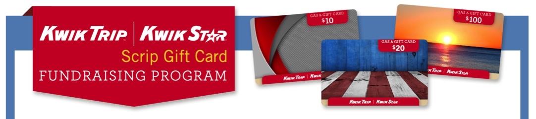 Kwik Trip Gift Card Fundraiser