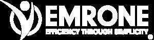 EMR ONE Logo - Corporate (White vers)