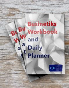 Businetiks Workbook and Daily Planner