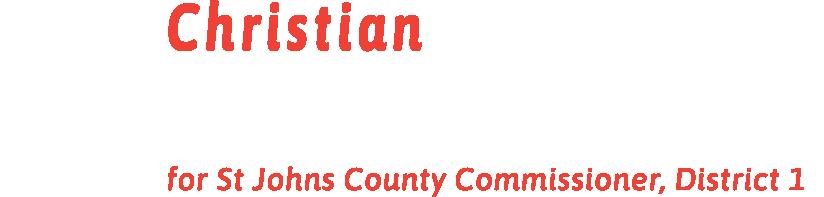 Christian Whitehurst for St Johns County Commission